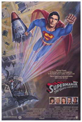 Superman 4: The Quest for Peace - 27 x 40 Movie Poster - Style A