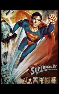 Superman 4: The Quest for Peace - 11 x 17 Movie Poster - Style B