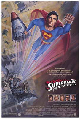 Superman 4: The Quest for Peace - 11 x 17 Movie Poster - Style F