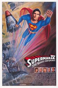 Superman 4: The Quest for Peace - 43 x 62 Movie Poster - Bus Shelter Style A