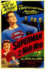 Superman & the Mole Men - 11 x 17 Movie Poster - Style A