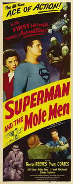 Superman & the Mole Men - 14 x 36 Movie Poster - Insert Style A