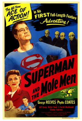 Superman & the Mole Men - 27 x 40 Movie Poster - Style A