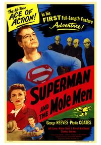 Superman & the Mole Men - 43 x 62 Movie Poster - Bus Shelter Style A