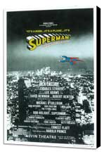 Superman (Broadway) - 14 x 22 Poster - Style A - Museum Wrapped Canvas
