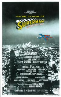 Superman (Broadway) - 14 x 22 Poster - Style A