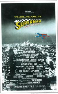 Superman (Broadway) - 11 x 17 Poster - Style A
