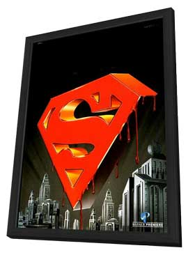 Superman: Doomsday - 27 x 40 Movie Poster - Style A - in Deluxe Wood Frame