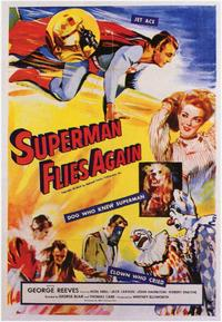 Superman Flies Again - 11 x 17 Movie Poster - Style A
