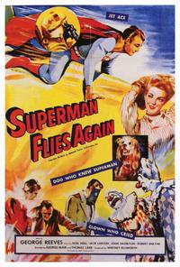 Superman Flies Again - 27 x 40 Movie Poster - Style A