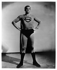 Superman (George Reeves) - 8 x 10 B&W Photo #1