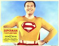 Superman in Scotland Yard - 11 x 14 Poster - Foreign - Style B