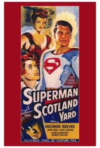 Superman in Scotland Yard - 27 x 40 Movie Poster - Style A