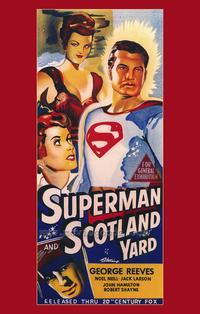 Superman in Scotland Yard - 43 x 62 Movie Poster - Bus Shelter Style A
