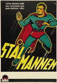 Superman - 11 x 17 Movie Poster - Swedish Style A