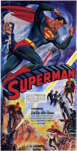 Superman - 11 x 17 Movie Poster - Style A