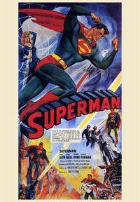 Superman - 43 x 62 Movie Poster - Bus Shelter Style A