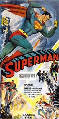 Superman - 20 x 40 Movie Poster - Style A