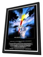 Superman: The Movie - 27 x 40 Movie Poster - Style A - in Deluxe Wood Frame