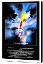 Superman: The Movie - 11 x 17 Movie Poster - Style A - Museum Wrapped Canvas