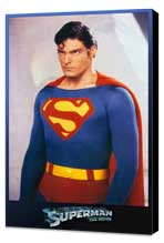 Superman: The Movie - 11 x 17 Movie Poster - Style J - Museum Wrapped Canvas