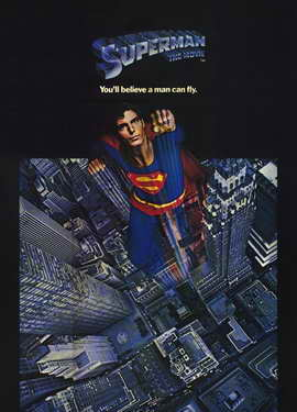 Superman: The Movie - 11 x 17 Movie Poster - Style B