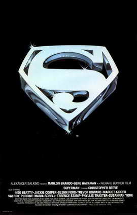 Superman: The Movie - 11 x 17 Movie Poster - Style E