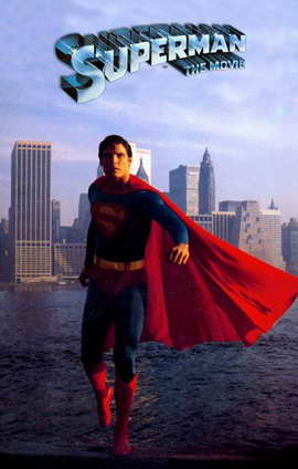 Superman: The Movie - 11 x 17 Movie Poster - Style H