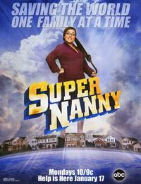 Supernanny - 43 x 62 Movie Poster - Bus Shelter Style A