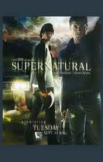 Supernatural (TV) - 11 x 17 TV Poster - Style B