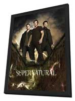 Supernatural (TV) - 27 x 40 TV Poster - Style F - in Deluxe Wood Frame
