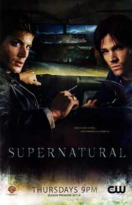 Supernatural (TV) - 11 x 17 TV Poster - Style U