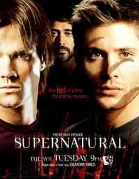 Supernatural (TV) - 11 x 17 TV Poster - Style G