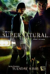 Supernatural (TV) - 11 x 17 Movie Poster - Style A - Double Sided