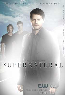 Supernatural (TV) - 11 x 17 TV Poster - Style V