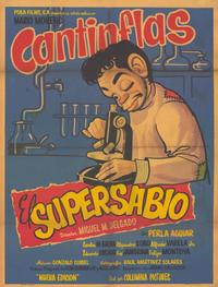El Supersabio - 11 x 17 Movie Poster - Spanish Style A
