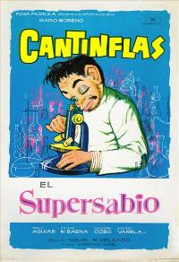 El Supersabio - 11 x 17 Movie Poster - Spanish Style B