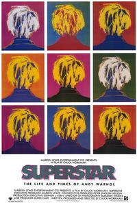 Superstar: The Life and Times of Andy Warhol - 27 x 40 Movie Poster - Style A