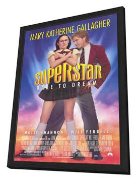 Superstar - 11 x 17 Movie Poster - Style A - in Deluxe Wood Frame
