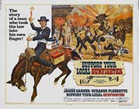 Support Your Local Gunfighter - 22 x 28 Movie Poster - Half Sheet Style A