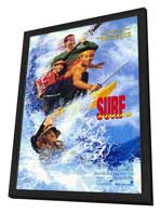 Surf Ninjas - 27 x 40 Movie Poster - Style A - in Deluxe Wood Frame