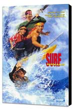 Surf Ninjas - 27 x 40 Movie Poster - Style A - Museum Wrapped Canvas