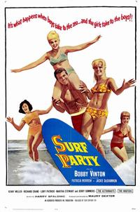 Surf Party - 11 x 17 Movie Poster - Style A