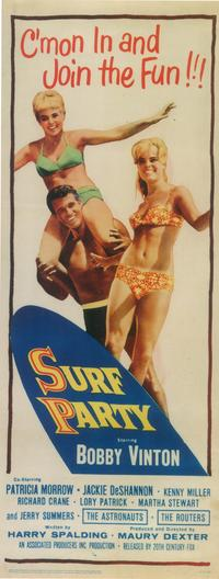 Surf Party - 14 x 36 Movie Poster - Insert Style A