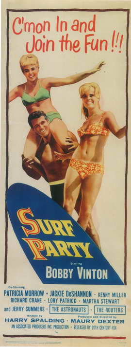 Surf Party - 8 x 17 Movie Poster - Style A