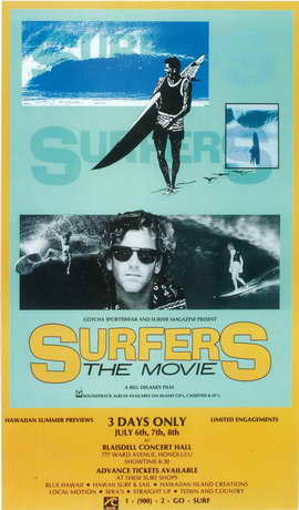 Surfers: The Movie - 27 x 40 Movie Poster - Style A