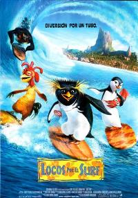 Surf's Up - 11 x 17 Movie Poster - Spanish Style A