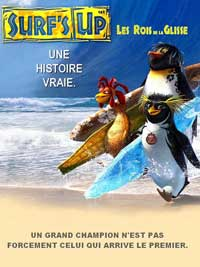 Surf's Up - 11 x 17 Movie Poster - French Style B
