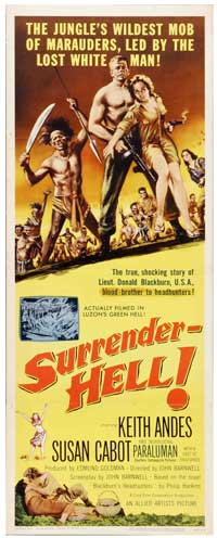 Surrender - Hell! - 14 x 36 Movie Poster - Insert Style A