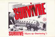 Survive - 11 x 17 Movie Poster - Belgian Style A